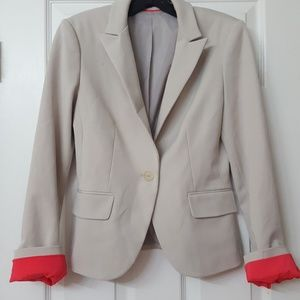 Express Fitted Blazer Suit Coat